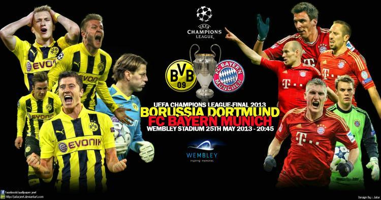 5月26日拜仁VS多特蒙德歐冠決賽Online sports 直播